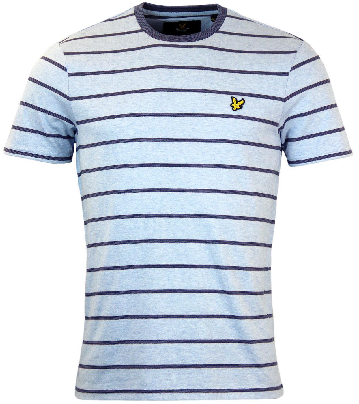 Birdseye LYLE & SCOTT Retro Indie Stripe T-Shirt