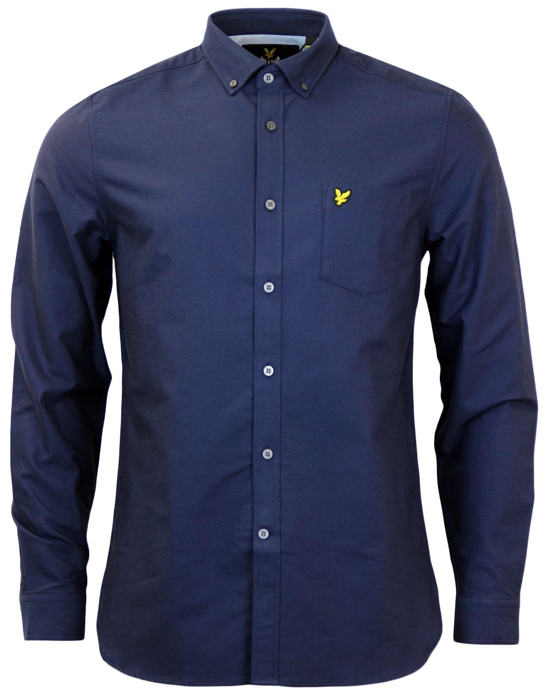 LYLE & SCOTT Retro Mod Button Down Oxford Shirt