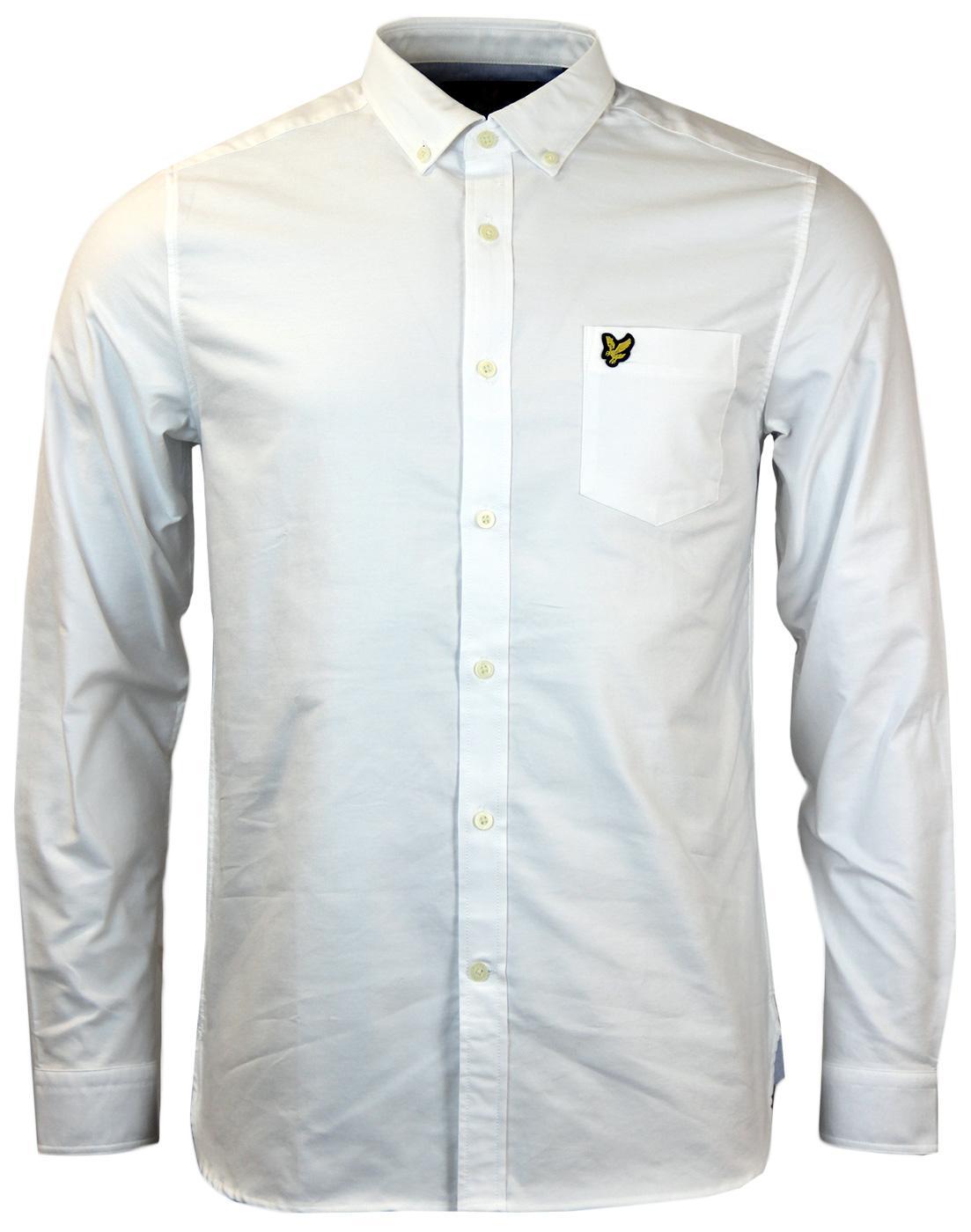 LYLE & SCOTT Retro Mod Button Down Oxford Shirt