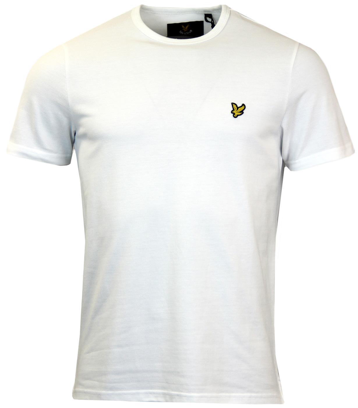 LYLE & SCOTT Retro Mod 60s Pique T-Shirt White