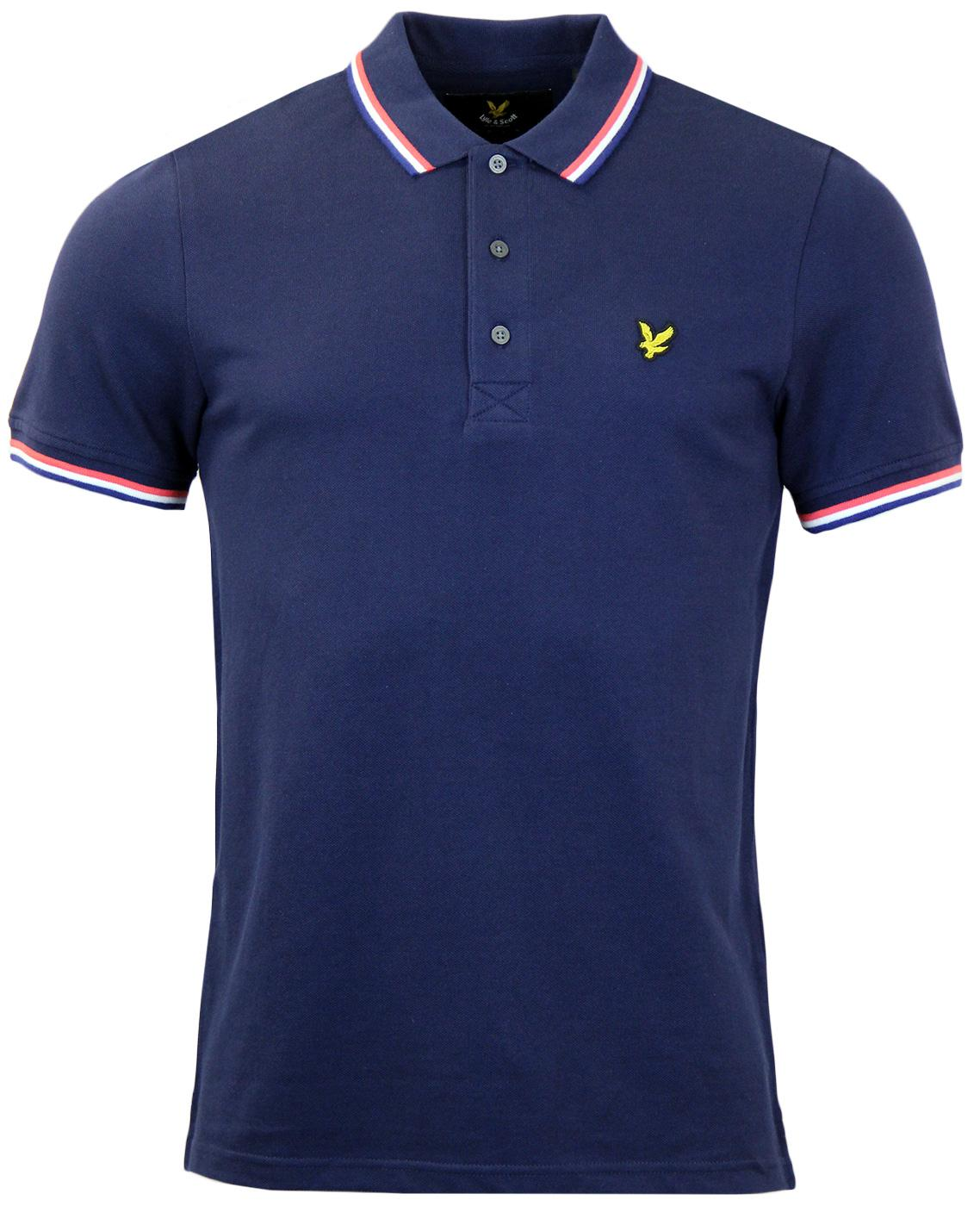 LYLE & SCOTT Classic Retro Tipped Pique Polo Shirt