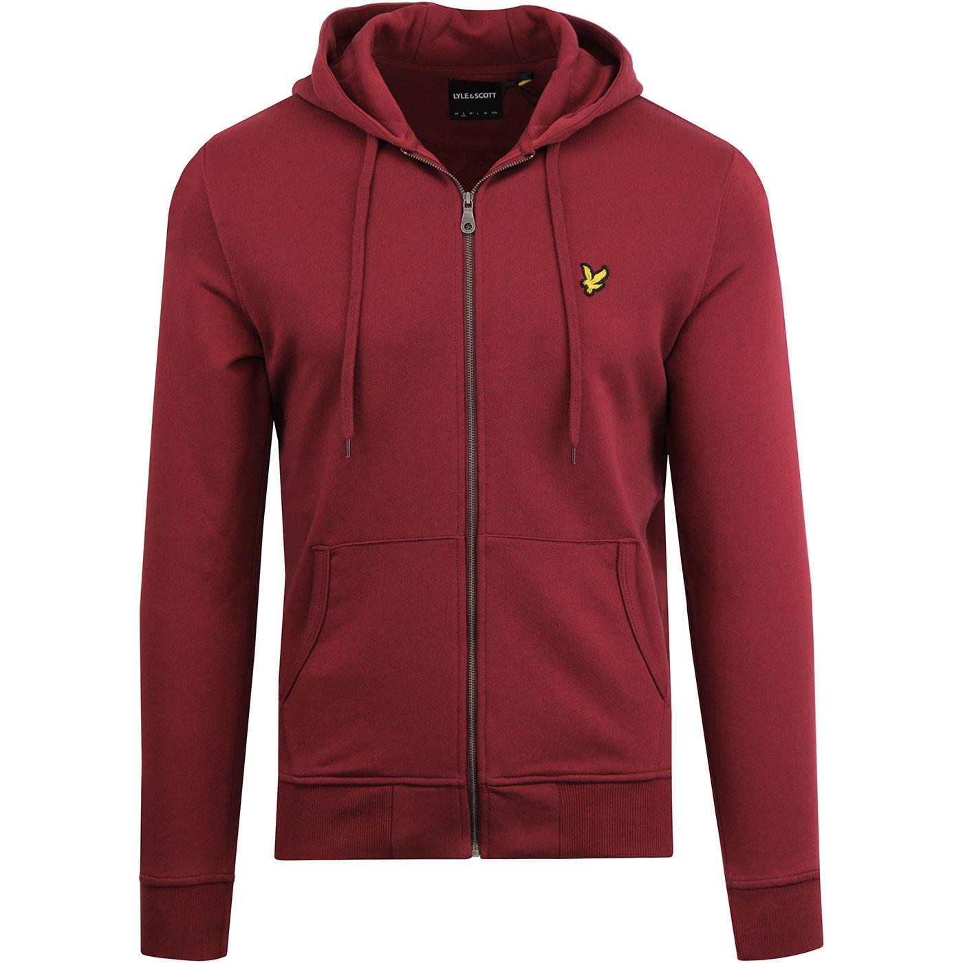 LYLE & SCOTT Men's 70's Retro Zip Through Hoodie