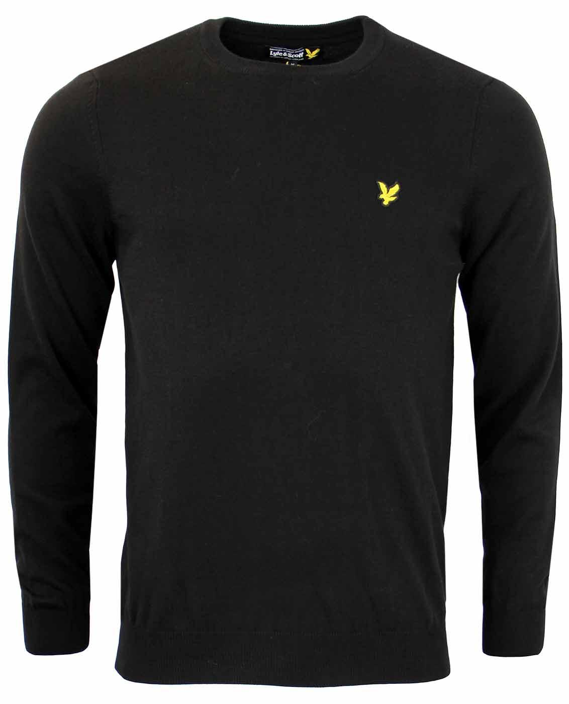 LYLE & SCOTT Retro Mod Cotton Crew Neck Jumper TB