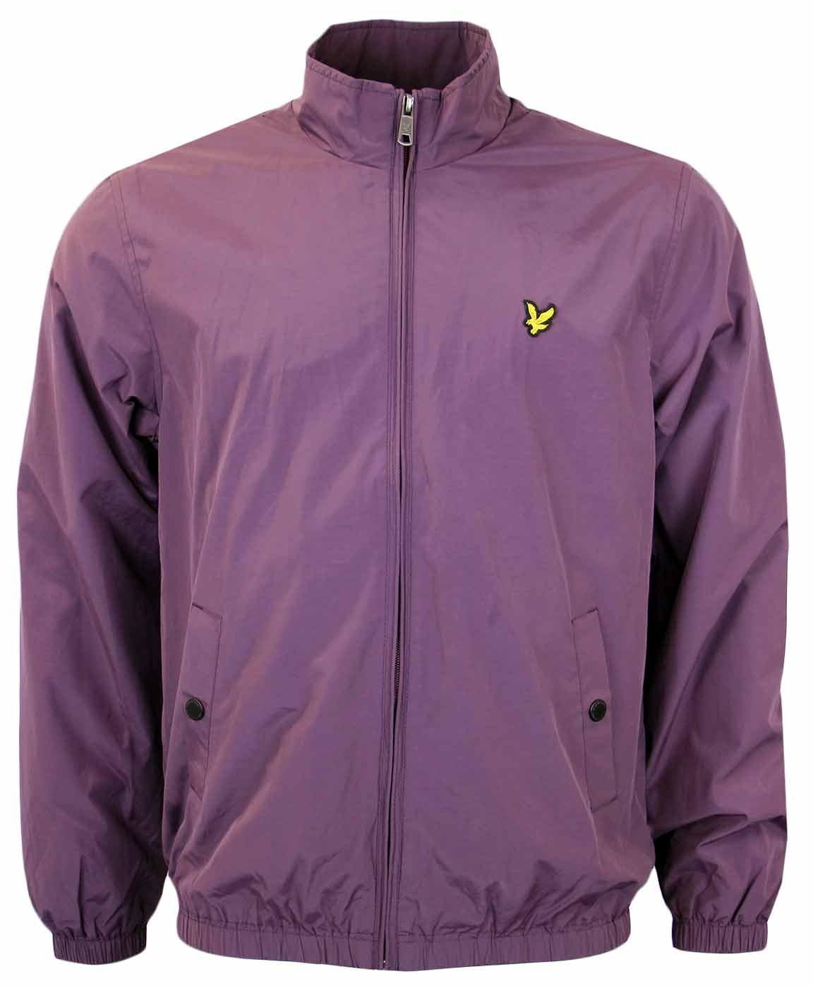 LYLE & SCOTT Retro Funnel Neck Zip Through Jacket