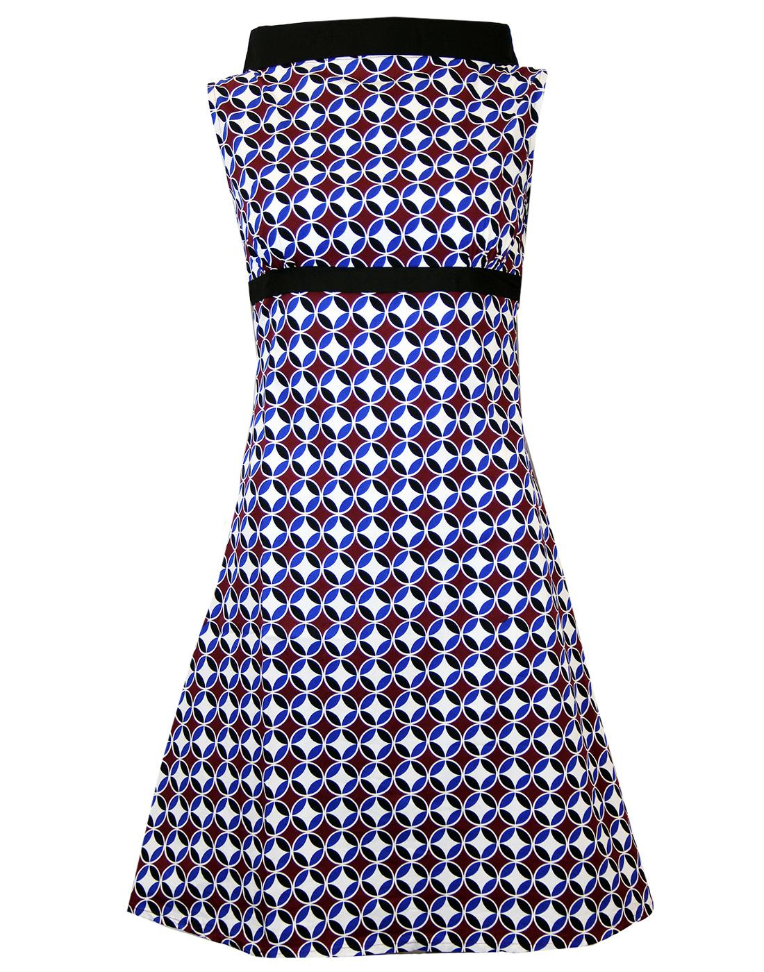 Ace Retro MADCAP ENGLAND 60s Circle Mod Dress (BB)