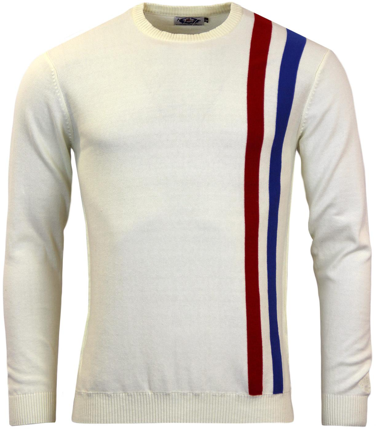MADCAP ENGLAND RETRO MOD RACING JUMPER ATTACK 60s