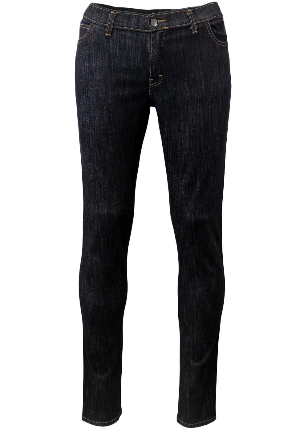 'Draytone' - Retro 60s Mod Indigo Drainpipe Jeans