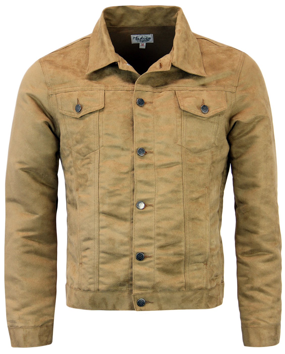Ealing MADCAP ENGLAND Retro Mod Faux Suede Jacket