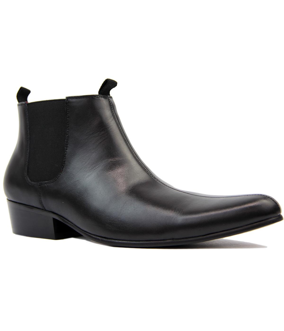 Lightfoot MADCAP ENGLAND Mod Chelsea Boots (BL)