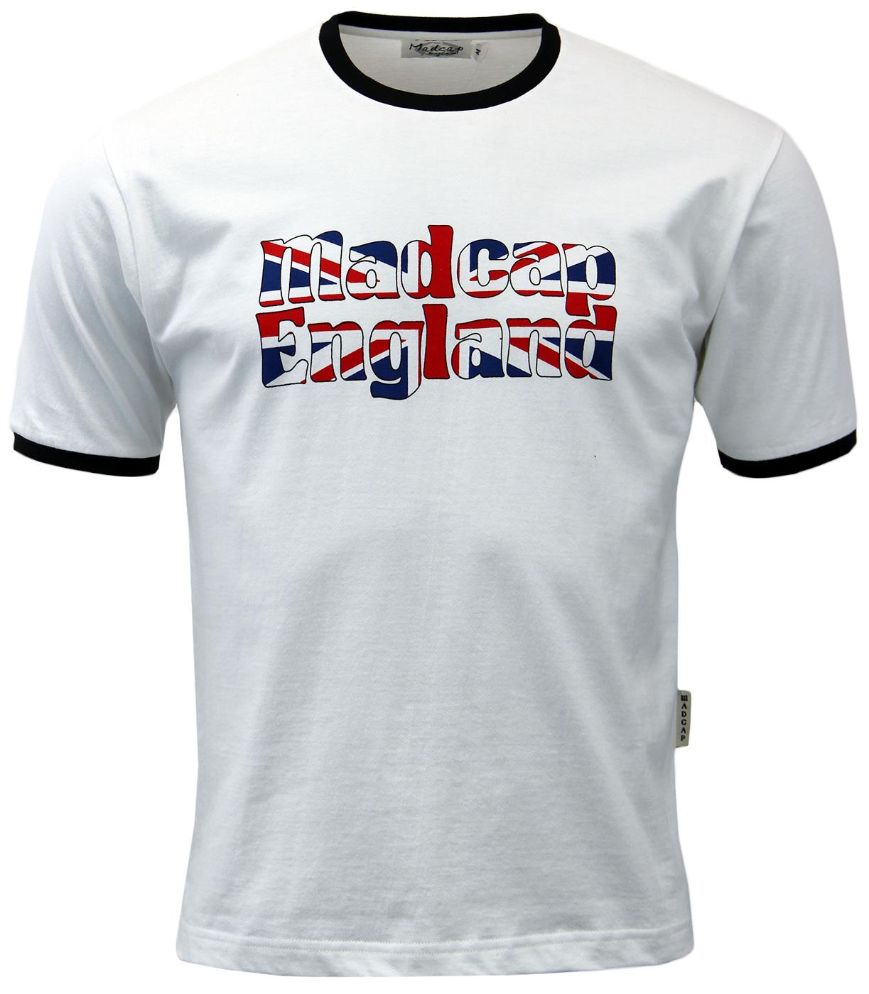 MADCAP ENGLAND Union Jack Pop Art Retro T-shirt