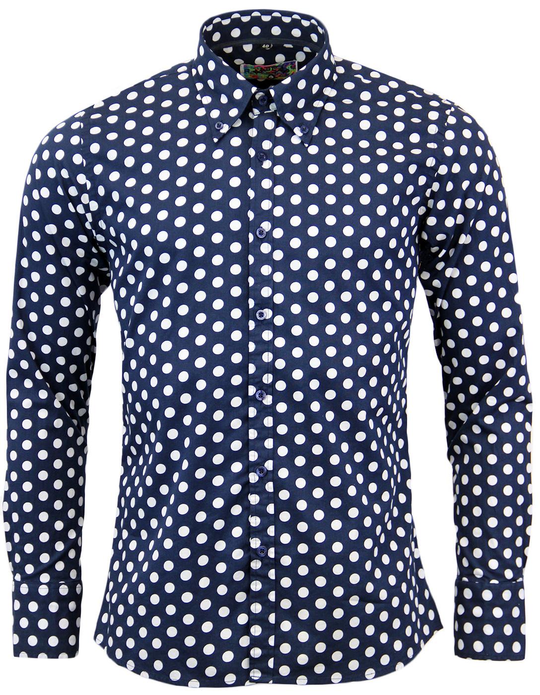 Penny Dot Lane MADCAP ENGLAND Retro 60s Mod Shirt