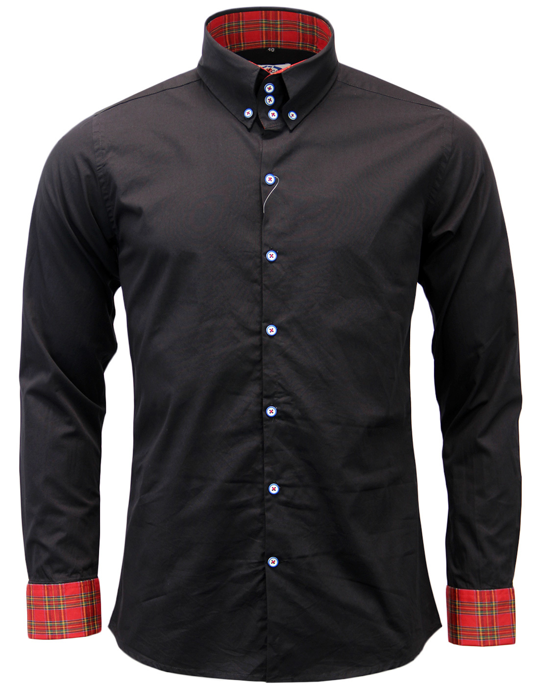 The Whiskey MADCAP ENGLAND High Collar Mod Shirt