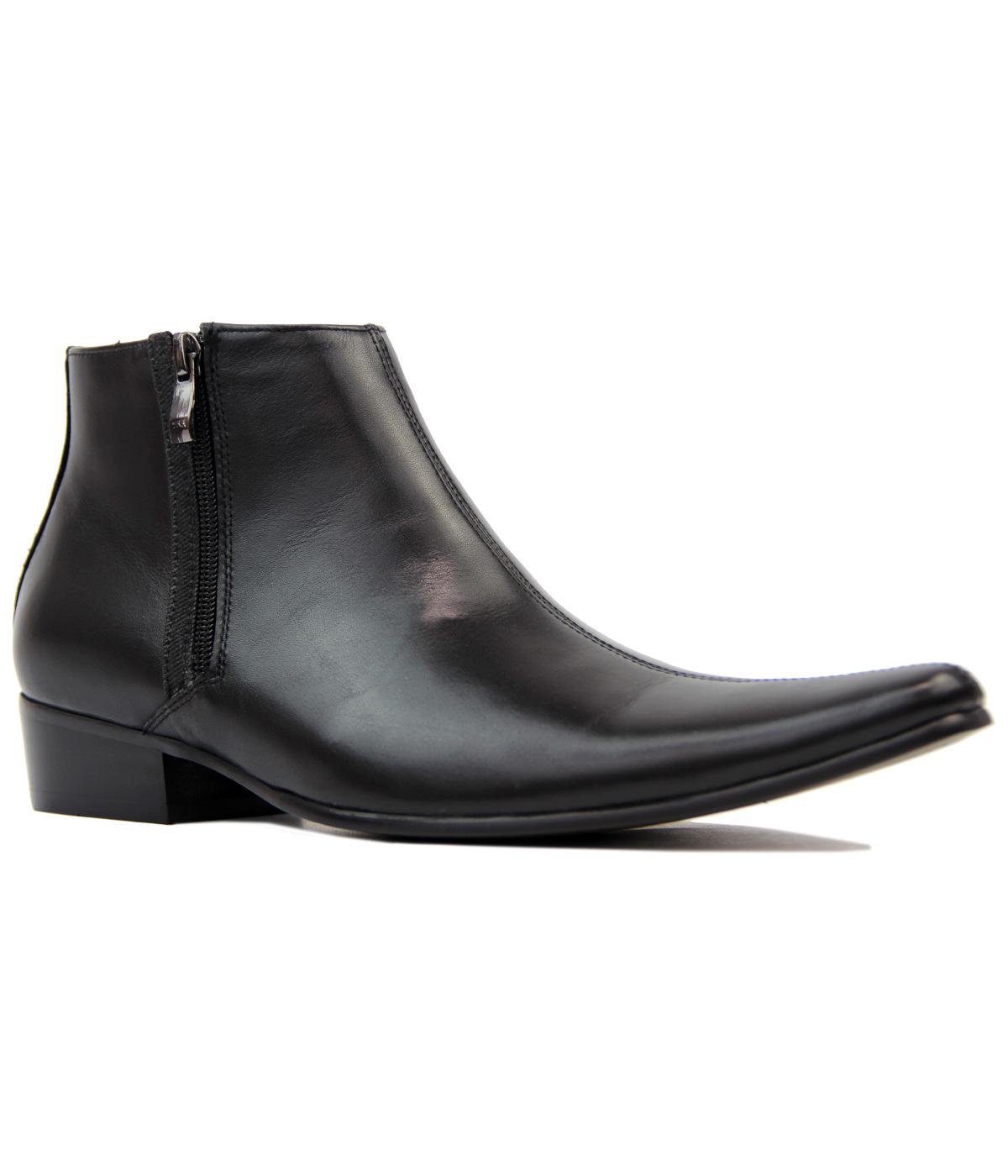 Thunderbolt MADCAP Chisel Toe Chelsea Boots (BL)