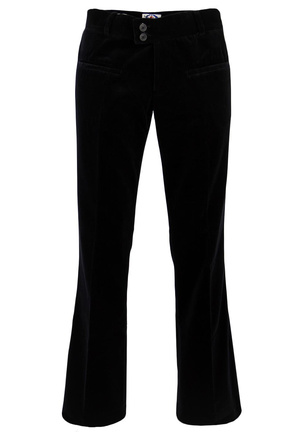 The Velvet Breed Retro Mod Velvet MADCAP Trousers