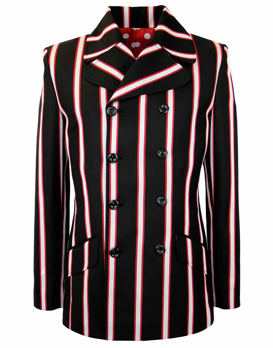 Howl MADCAP Double Breasted Retro Stripe Blazer