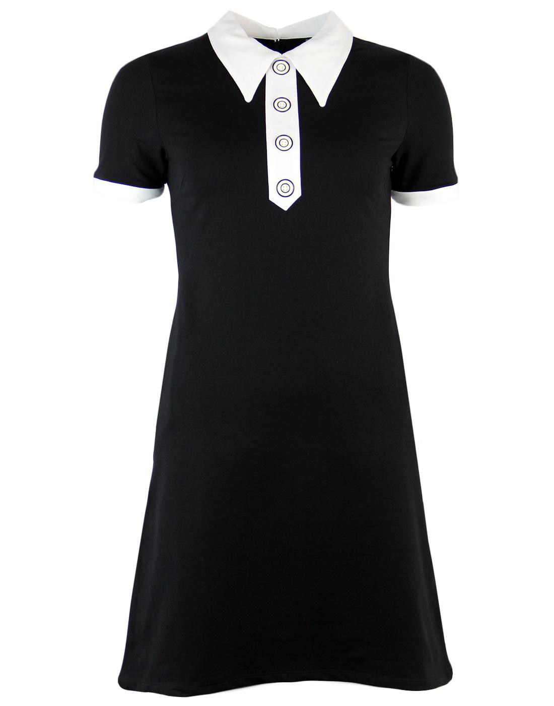 Apricot MADEMOISELLE YEYE Mod Spear Collar Dress B