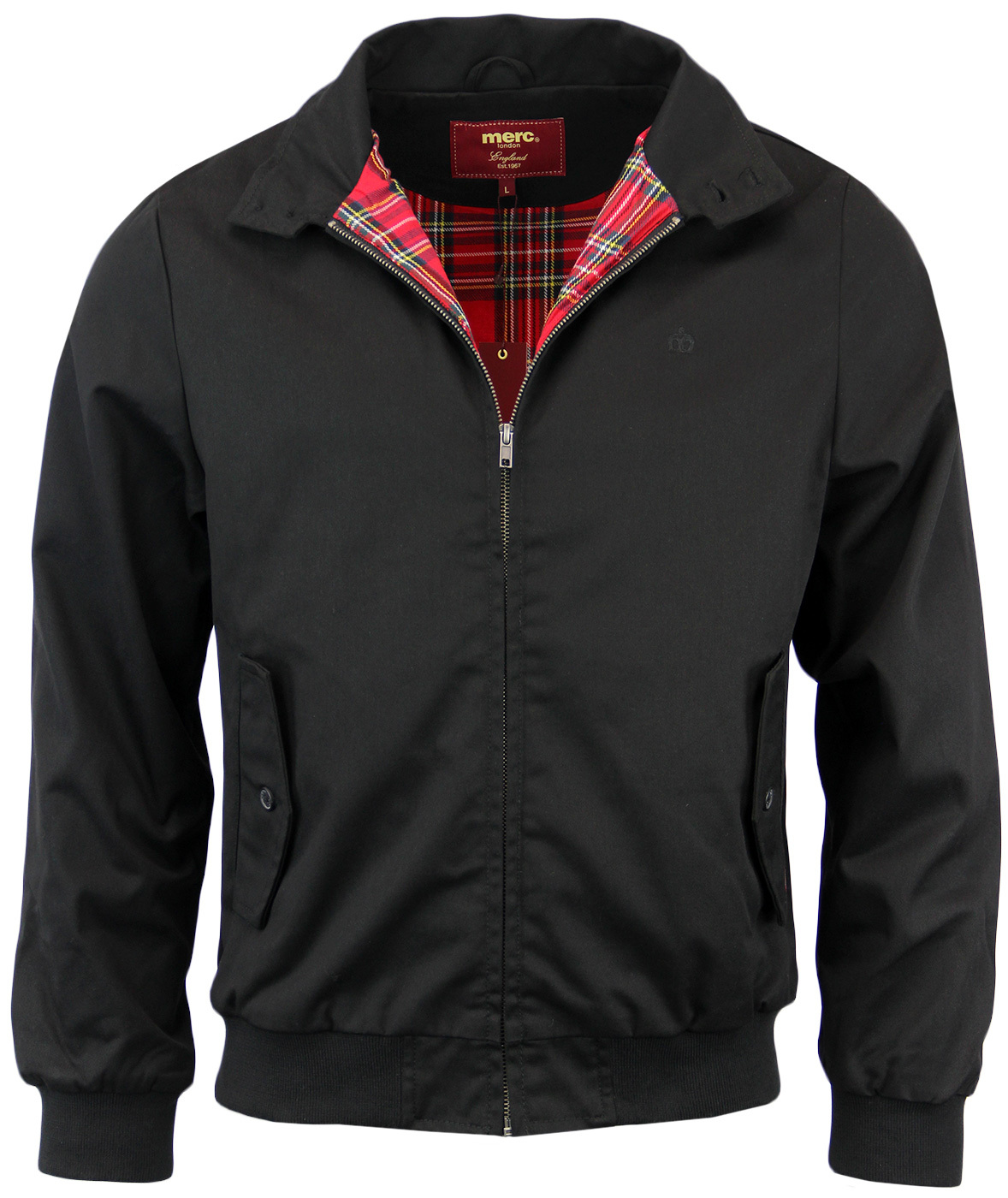 Harrington MERC Retro Indie Classic Mod Jacket B