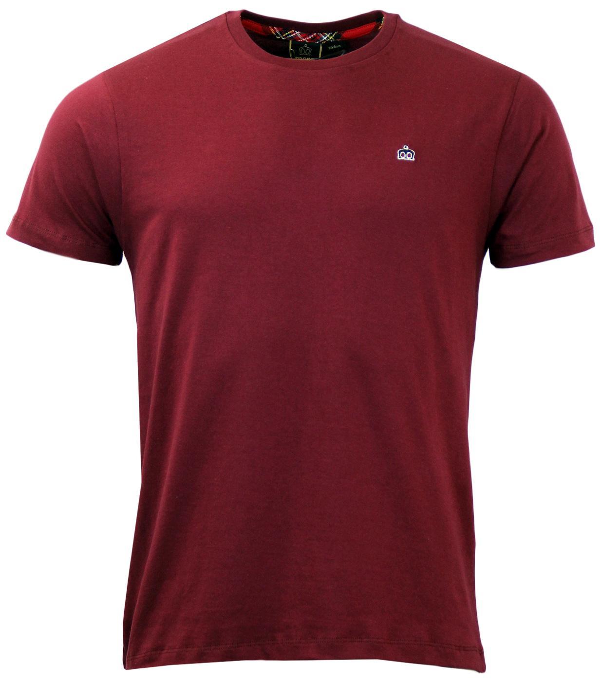 Keyport MERC Retro Mod Plain Crew Neck T-Shirt B
