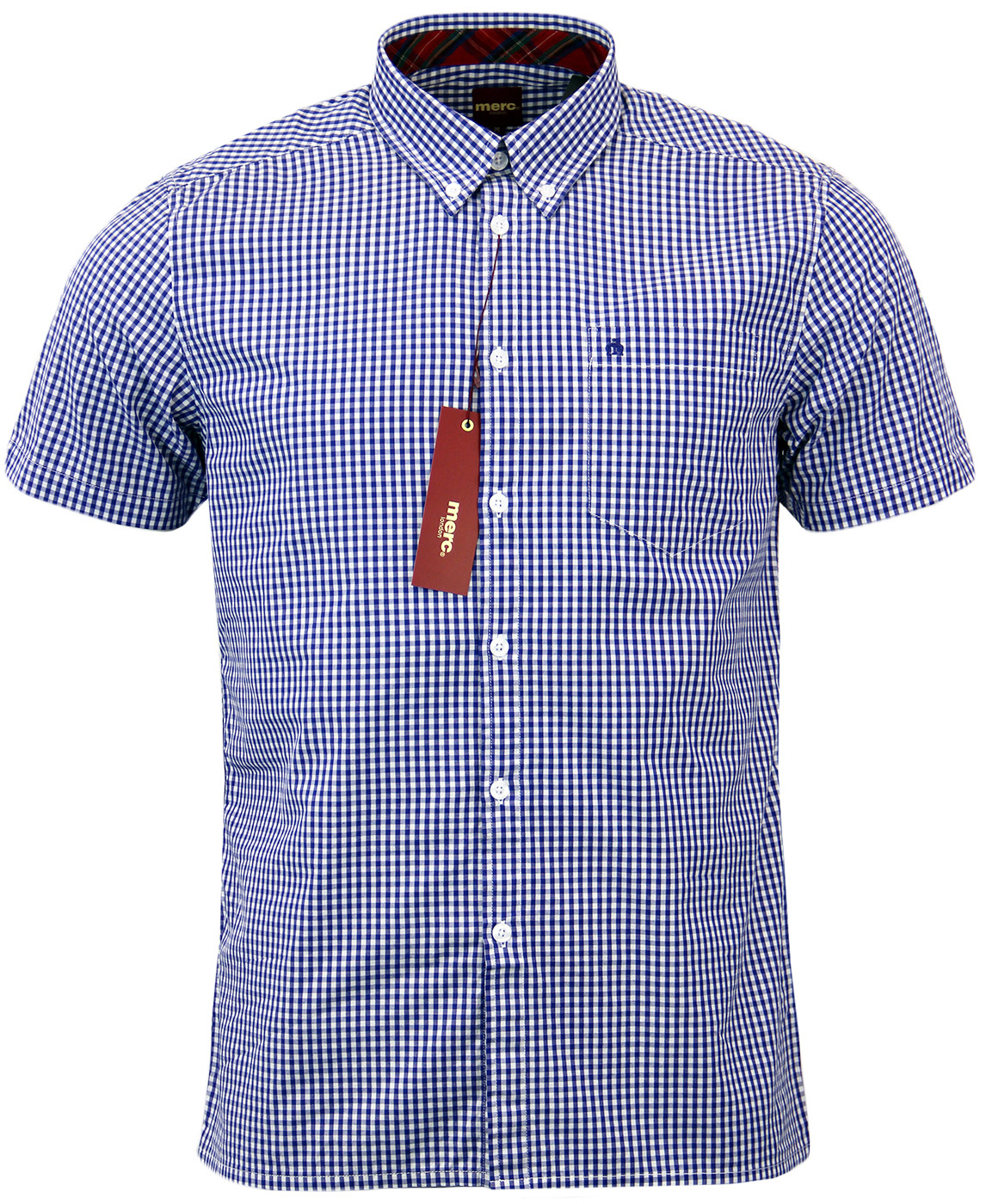 Terry MERC Retro Mod Classic Gingham Shirt (R)