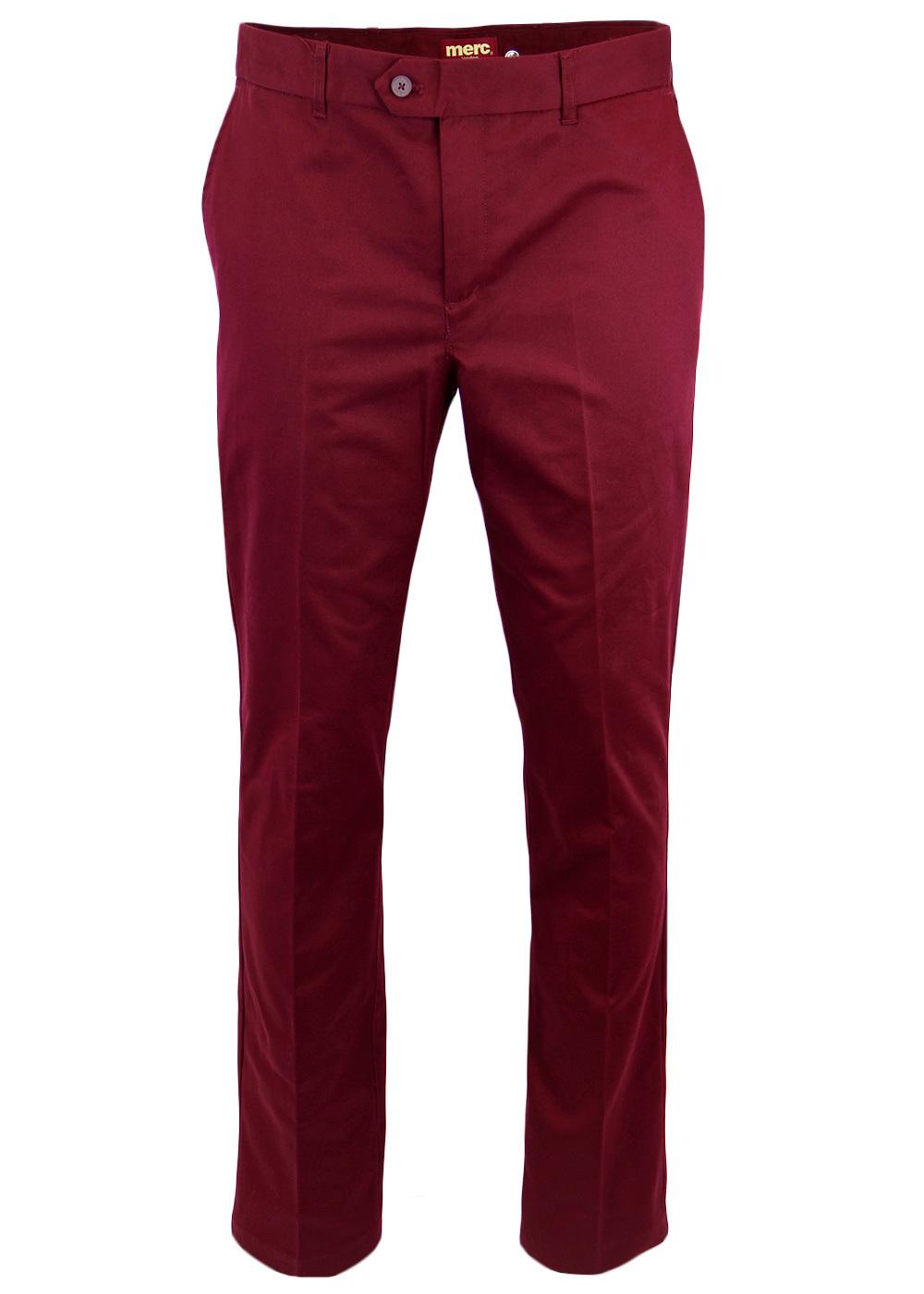 Winston MERC 60s Mod Sta Press Retro Trousers (W)