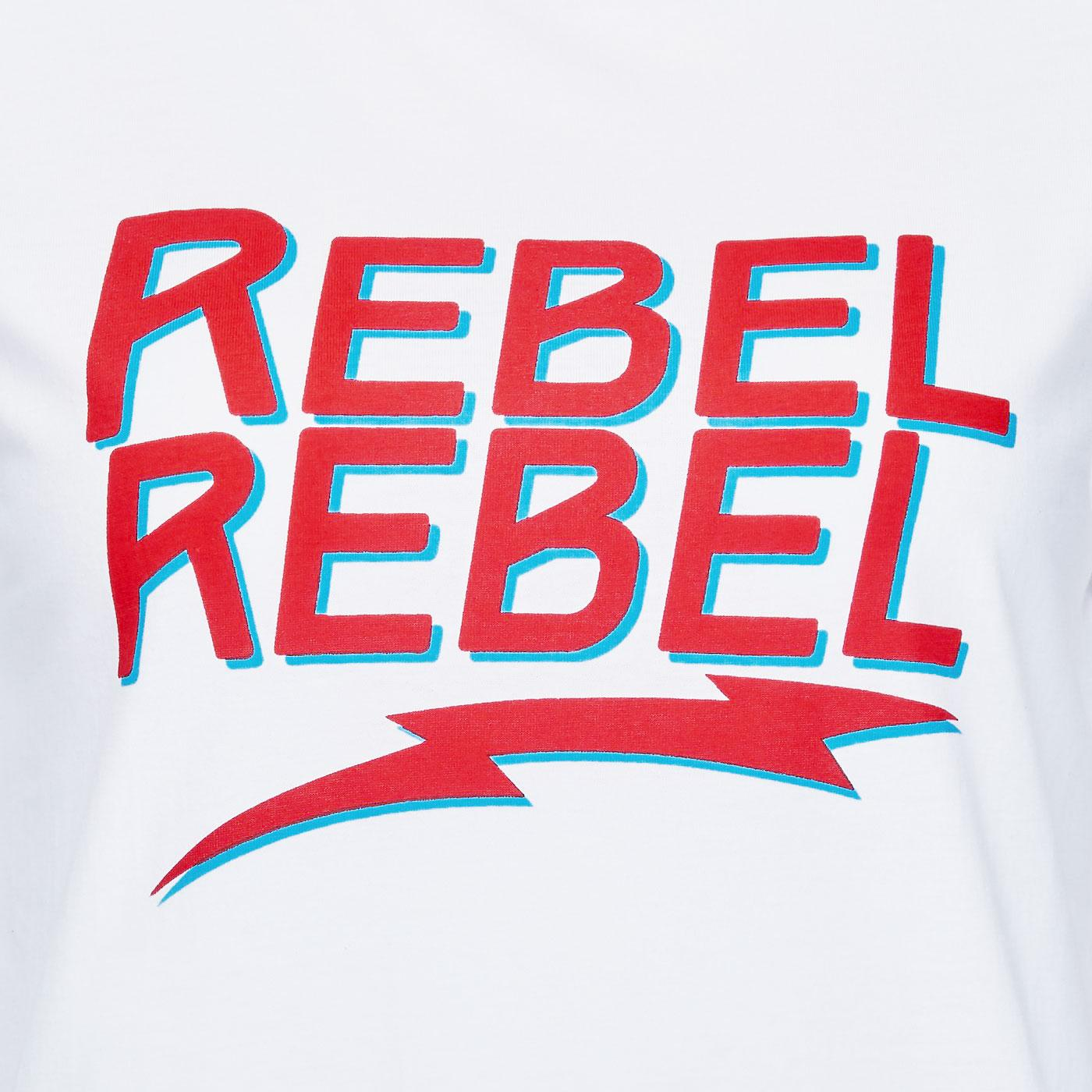 Close-up of Sugarhill Brighton Rebel Rebel t-shirt