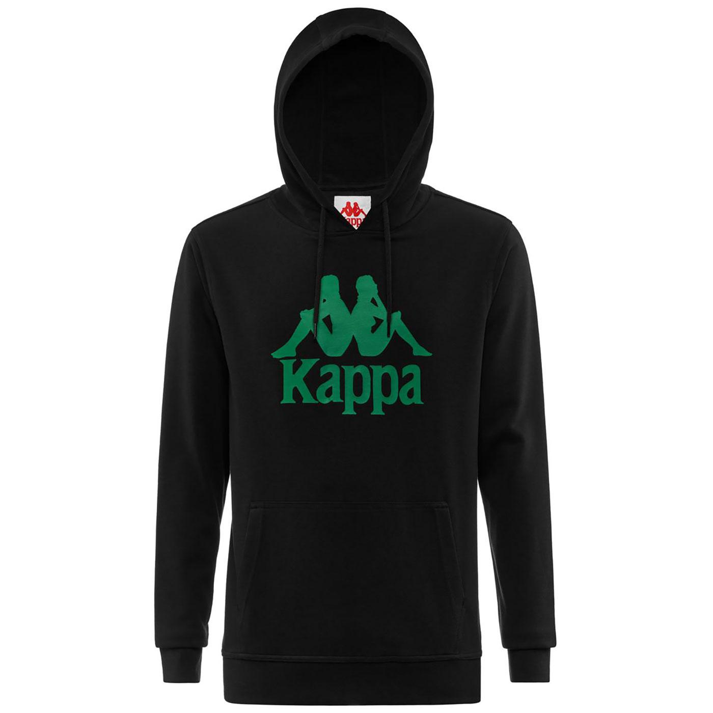 Zimim KAPPA Men's Eighties Retro Logo Hoodie B