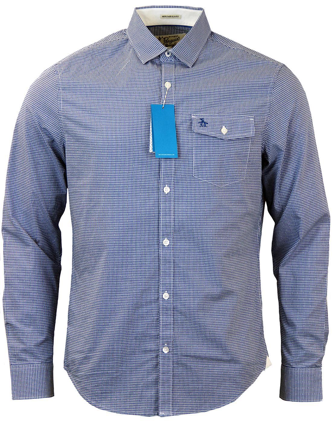 Facade ORIGINAL PENGUIN Mod Mini Gingham Shirt