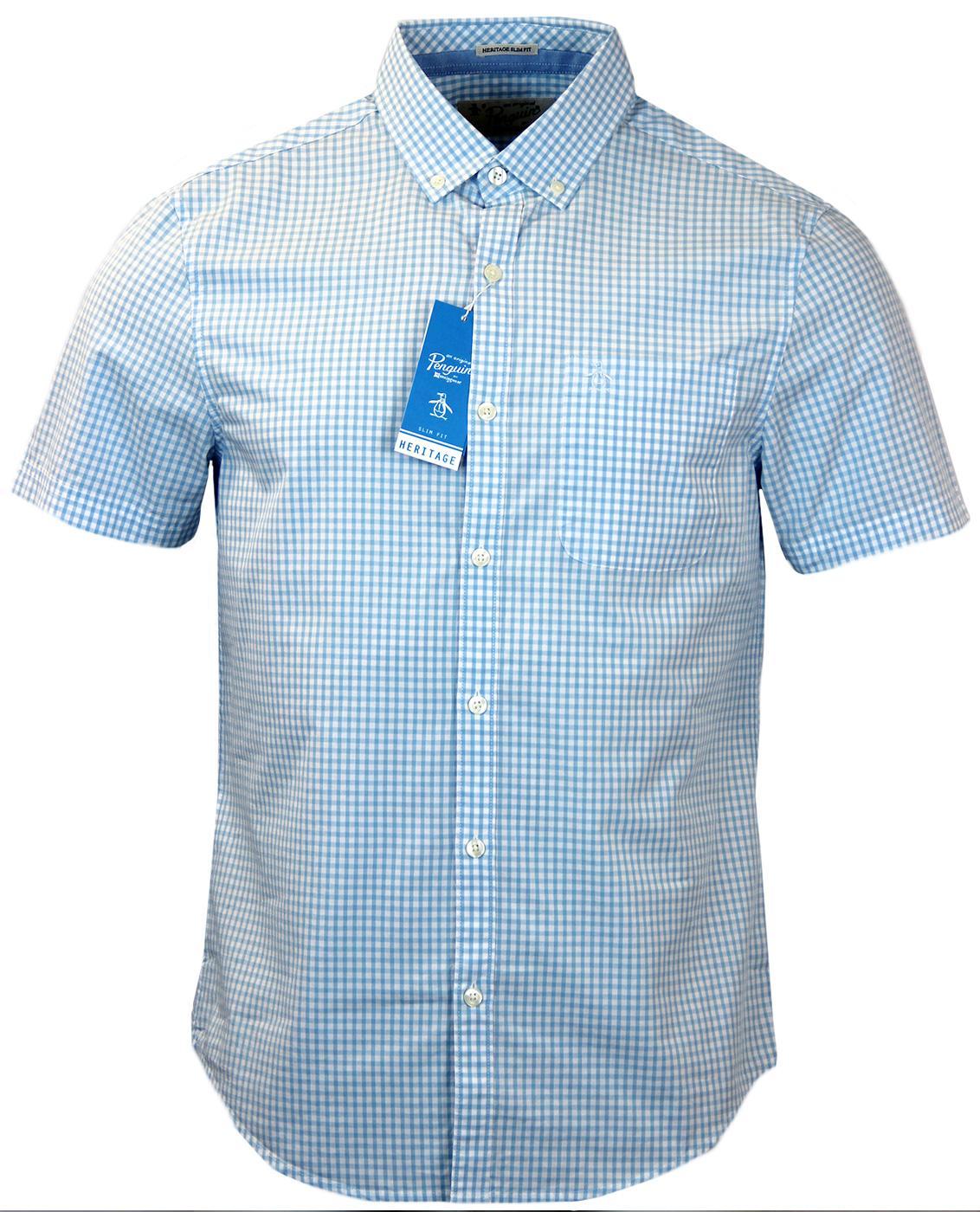 Belan ORIGINAL PENGUIN Retro Mod Gingham Shirt