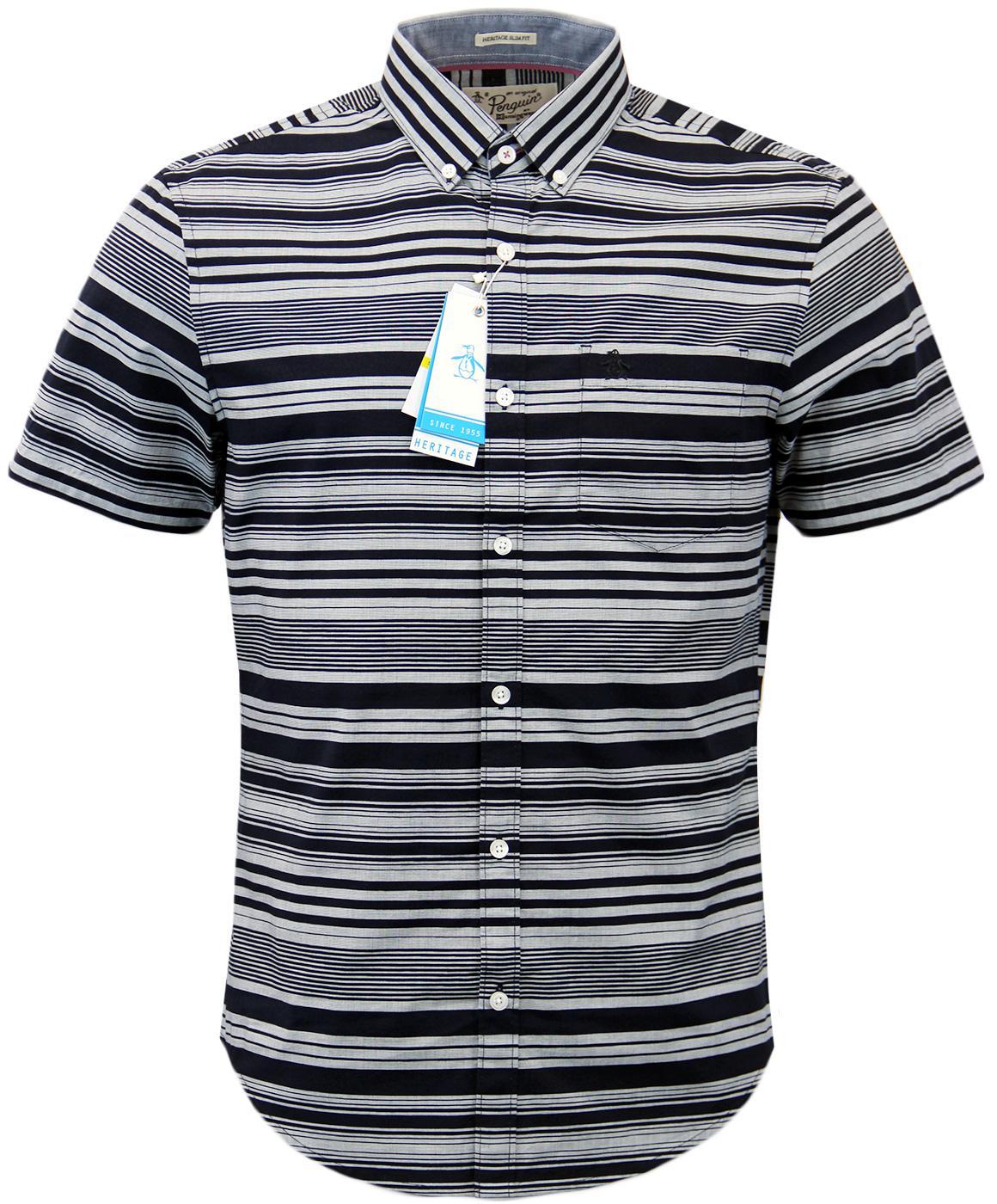 Sketch ORIGINAL PENGUIN Retro Mod 60s Stripe Shirt