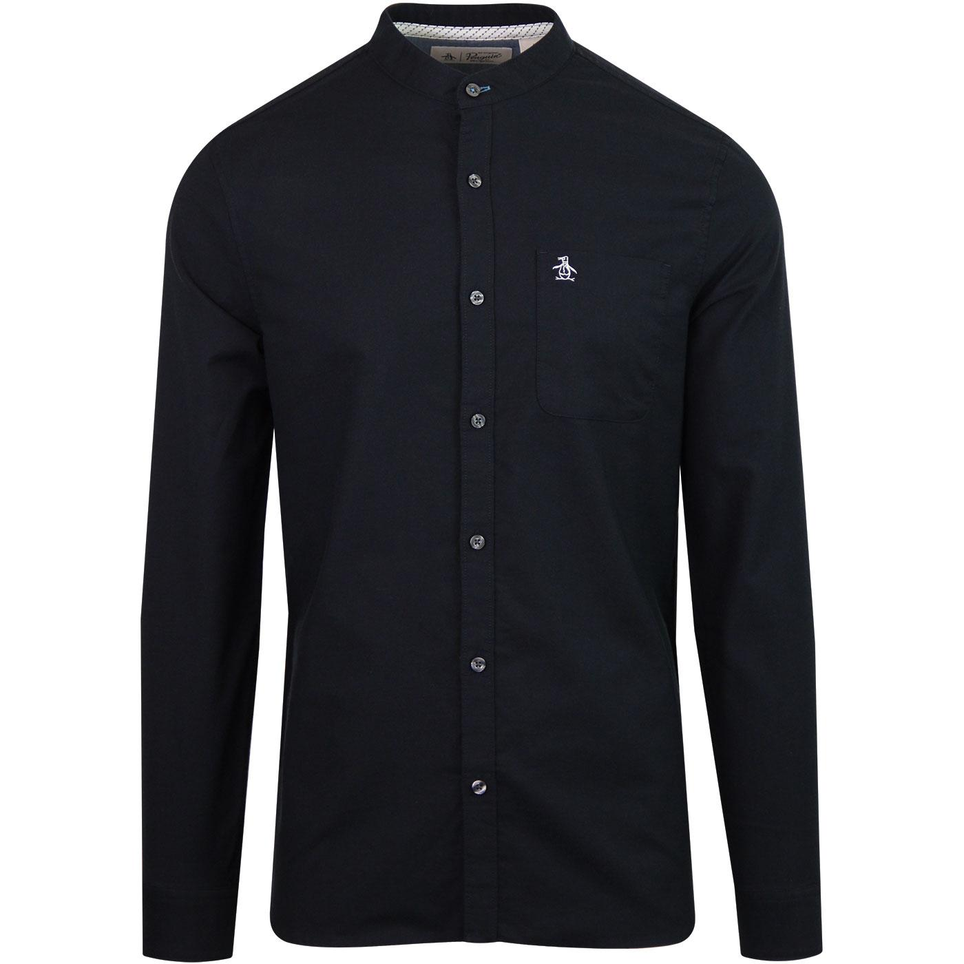 Collarless ORIGINAL PENGUIN Oxford Mod Shirt (DS)