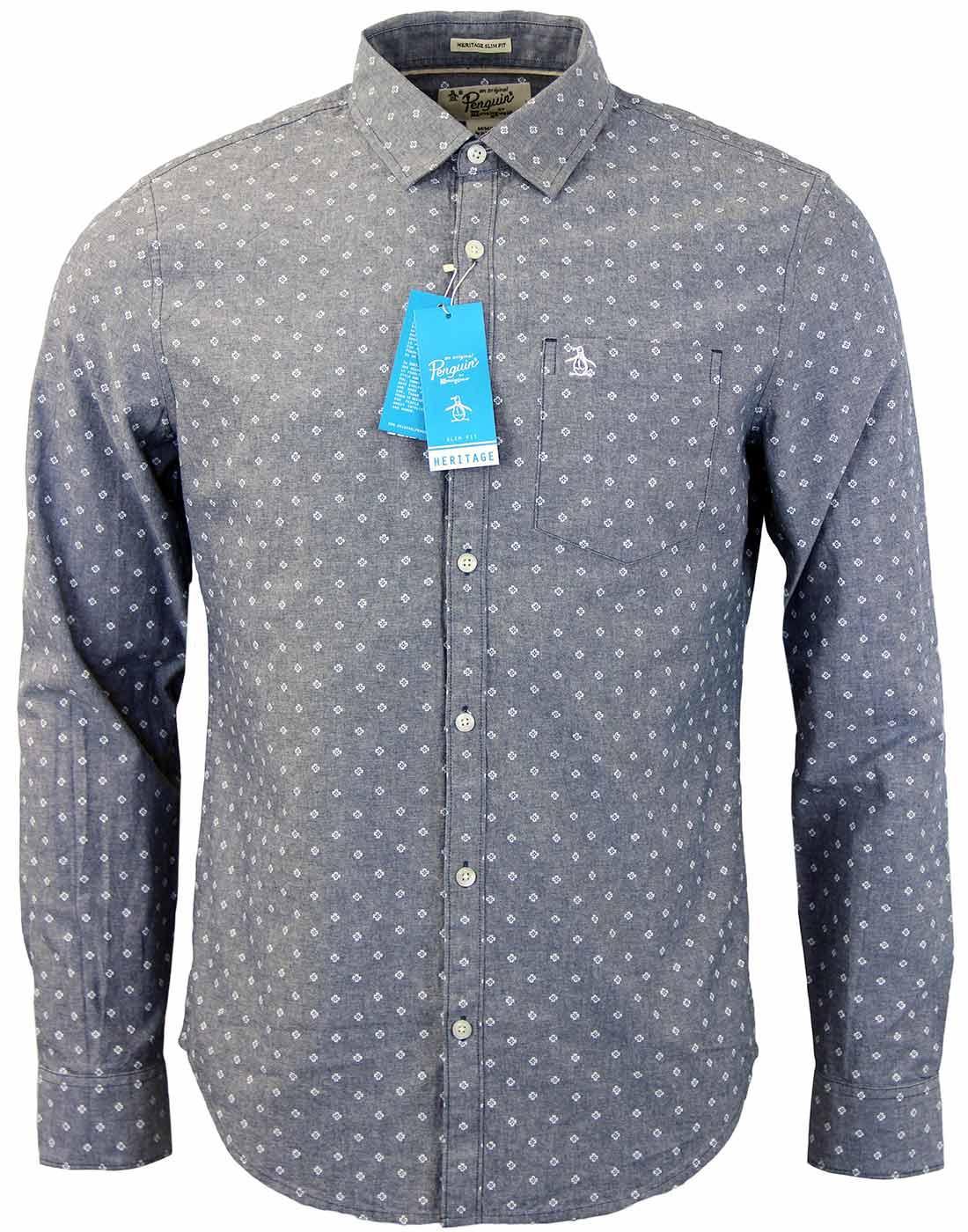 Elm ORIGINAL PENGUIN Retro Mod Oxford Shirt