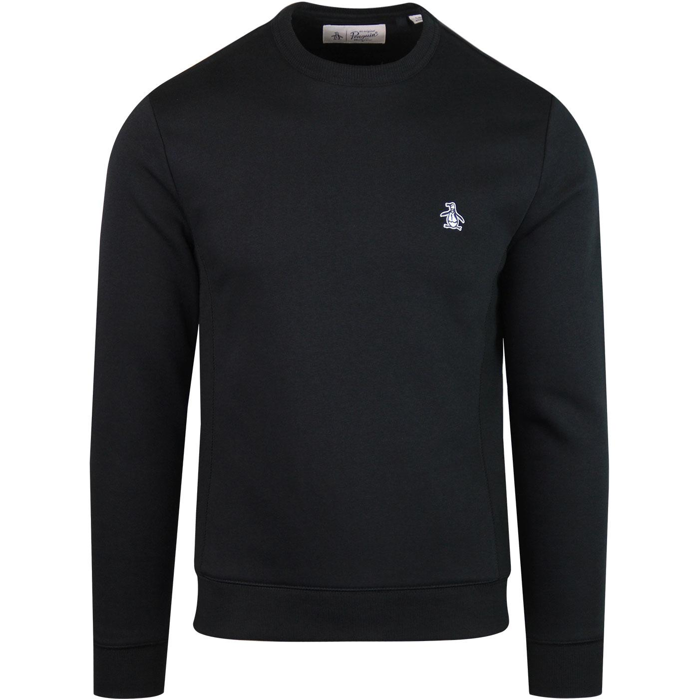 ORIGINAL PENGUIN Classic Crew Neck Sweat Shirt
