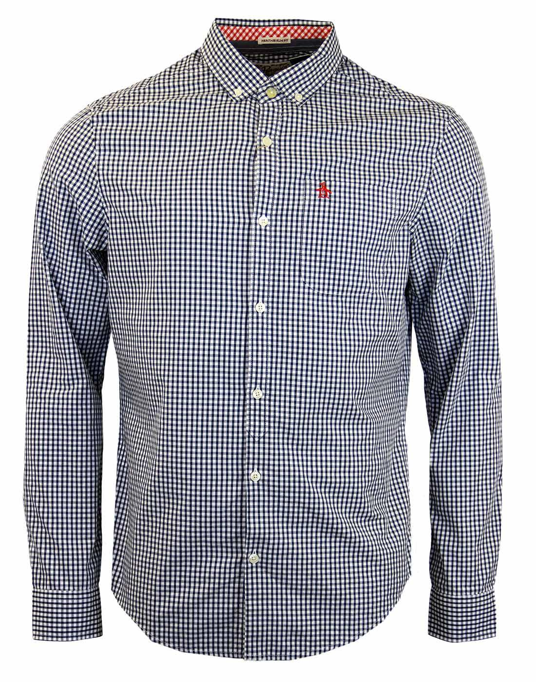 ORIGINAL PENGUIN Retro Mod Gingham Shirt