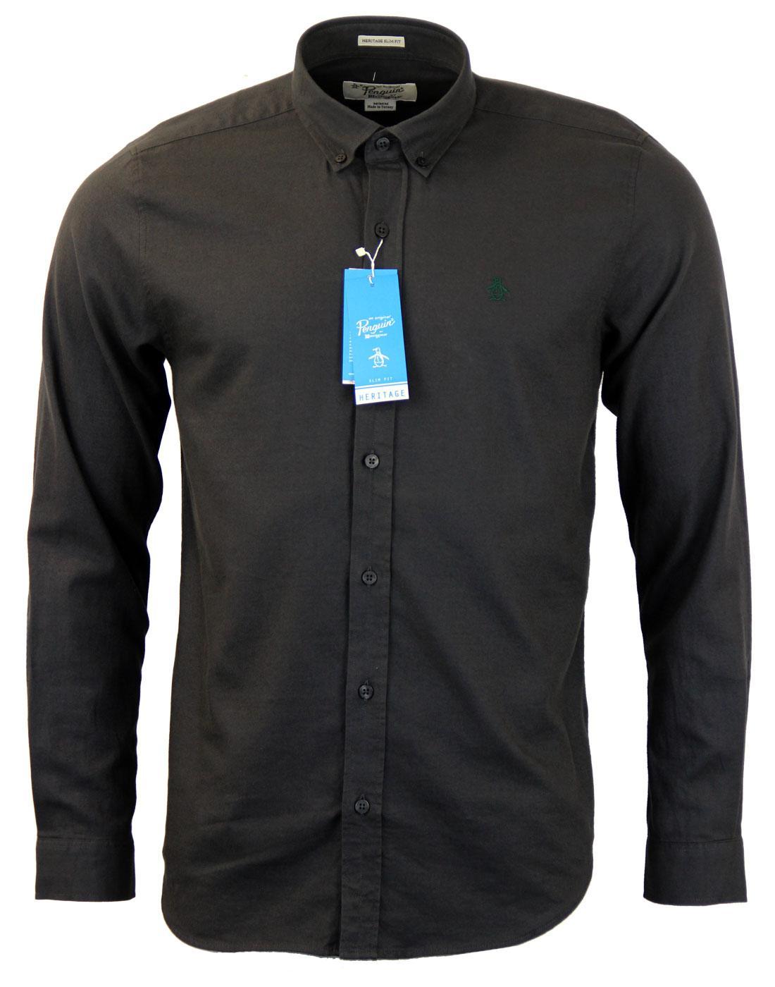 Warmer ORIGINAL PENGUIN Mod Brushed Cotton Shirt