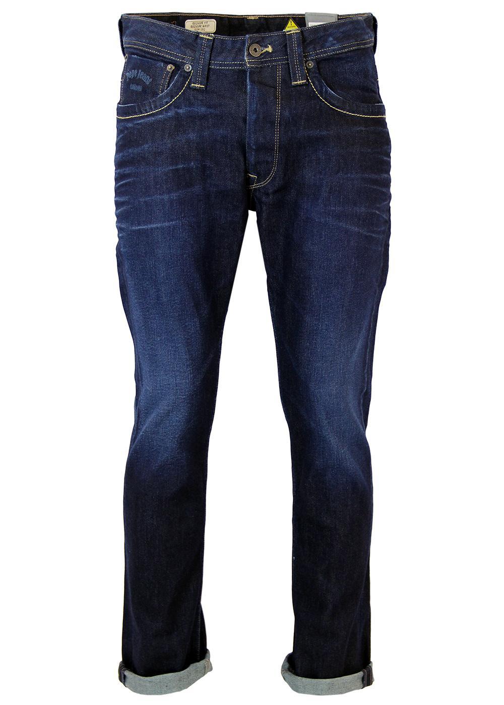 Cash PEPE JEANS Retro Mod Slim Leg Indie Jeans