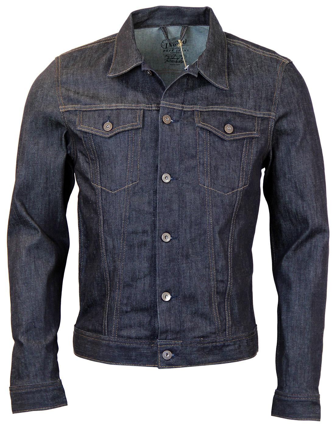 Boxter PEPE JEANS Retro Mod Dark Denim Jacket