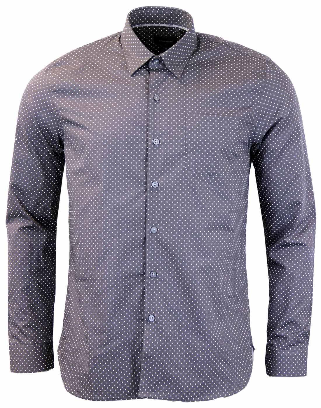 Henshall PETER WERTH Mod Polka Dot Indie Shirt (G)