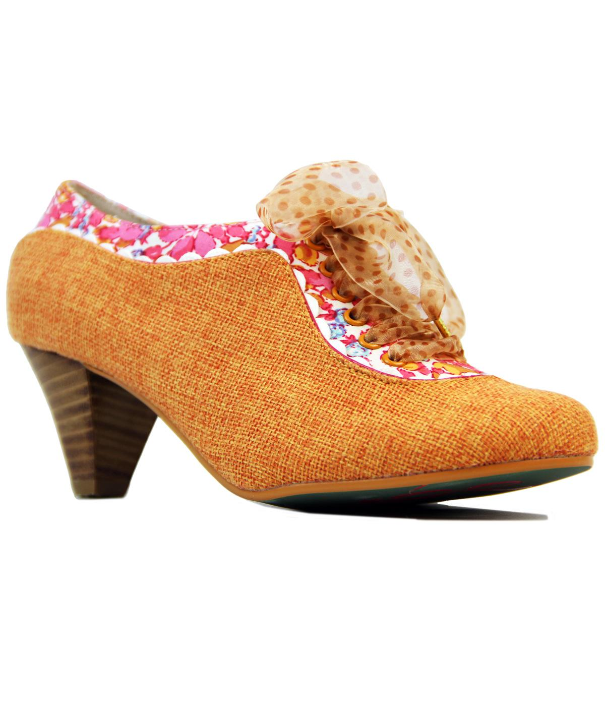 Whiplash POETIC LICENCE Vintage Floral Trim Heels
