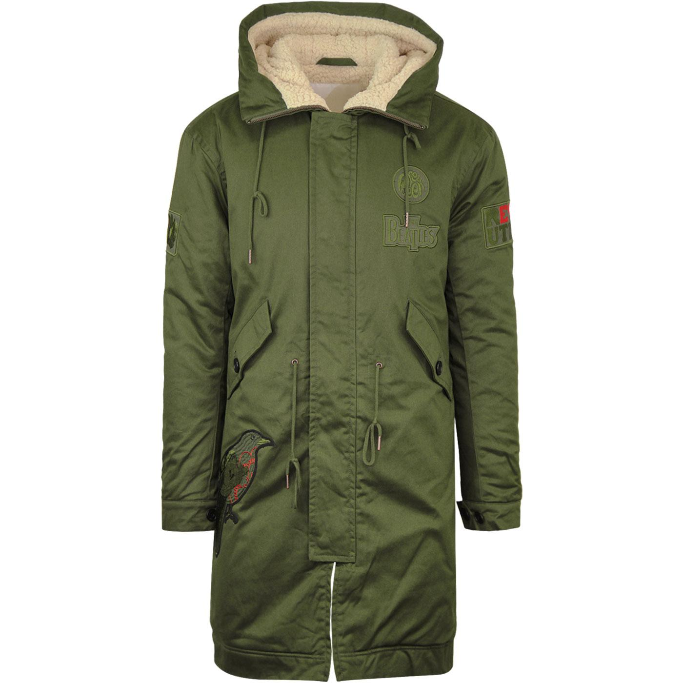 Pretty Green Beatles Parka