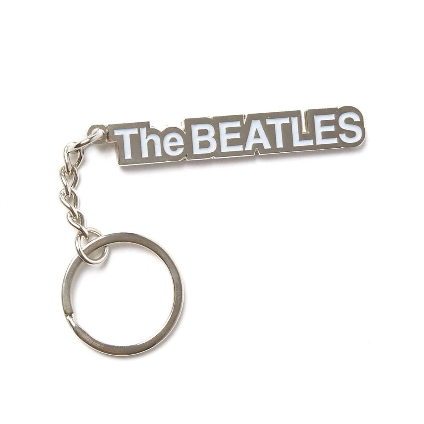 PRETTY GREEN X THE BEATLES White Album Keyring