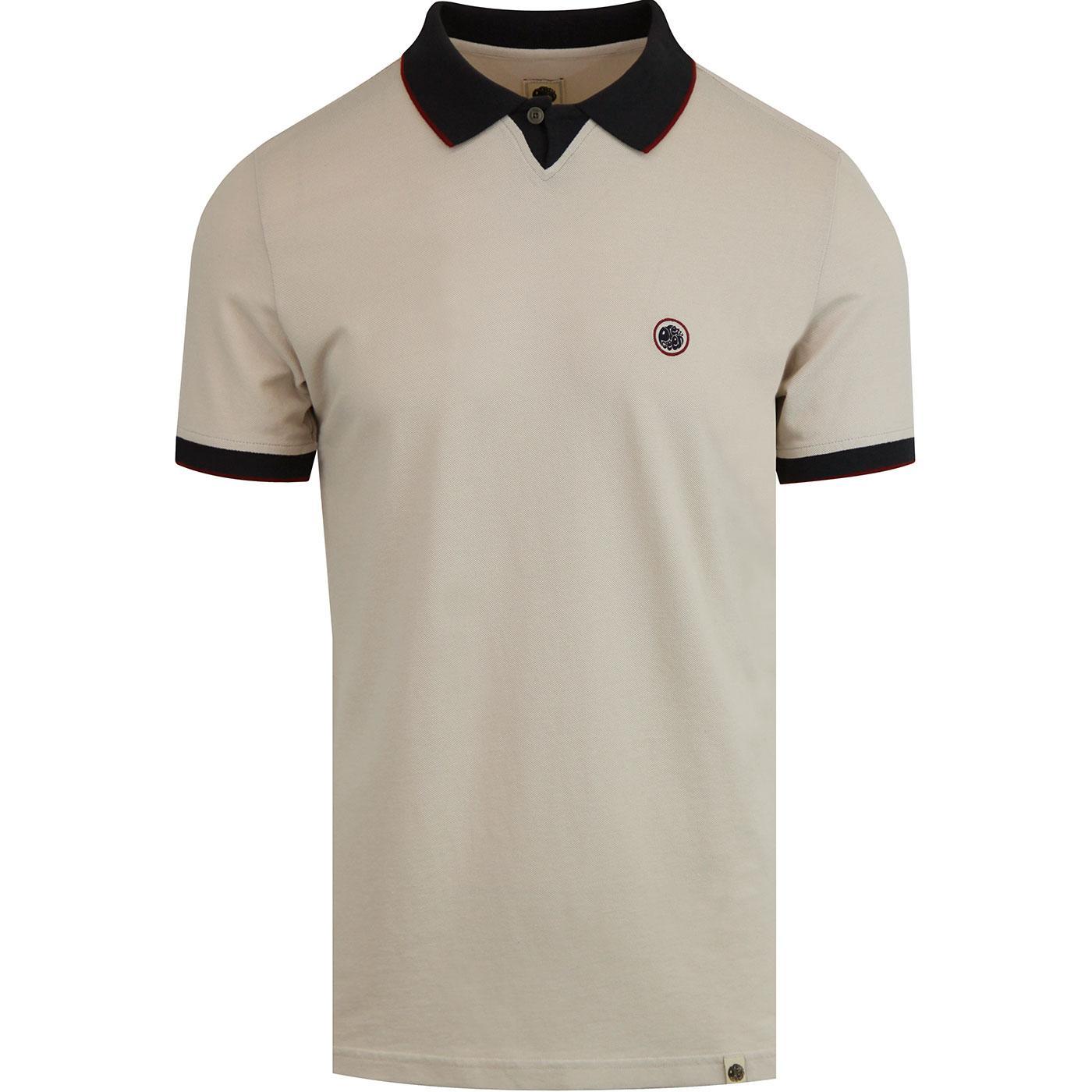 Silverdale PRETTY GREEN Sports Collar Polo STONE