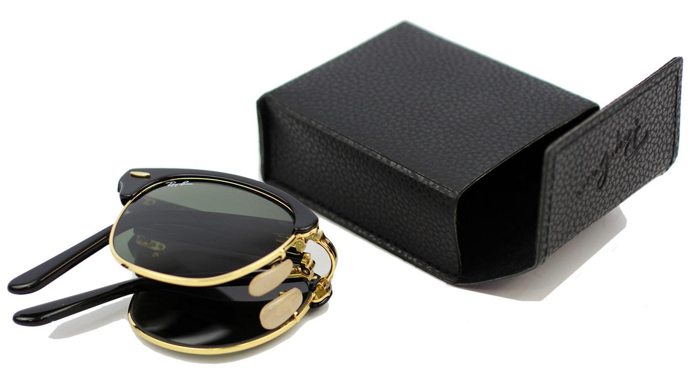 Ray-Ban Folding Clubmaster G-15 Lens Sunglasses