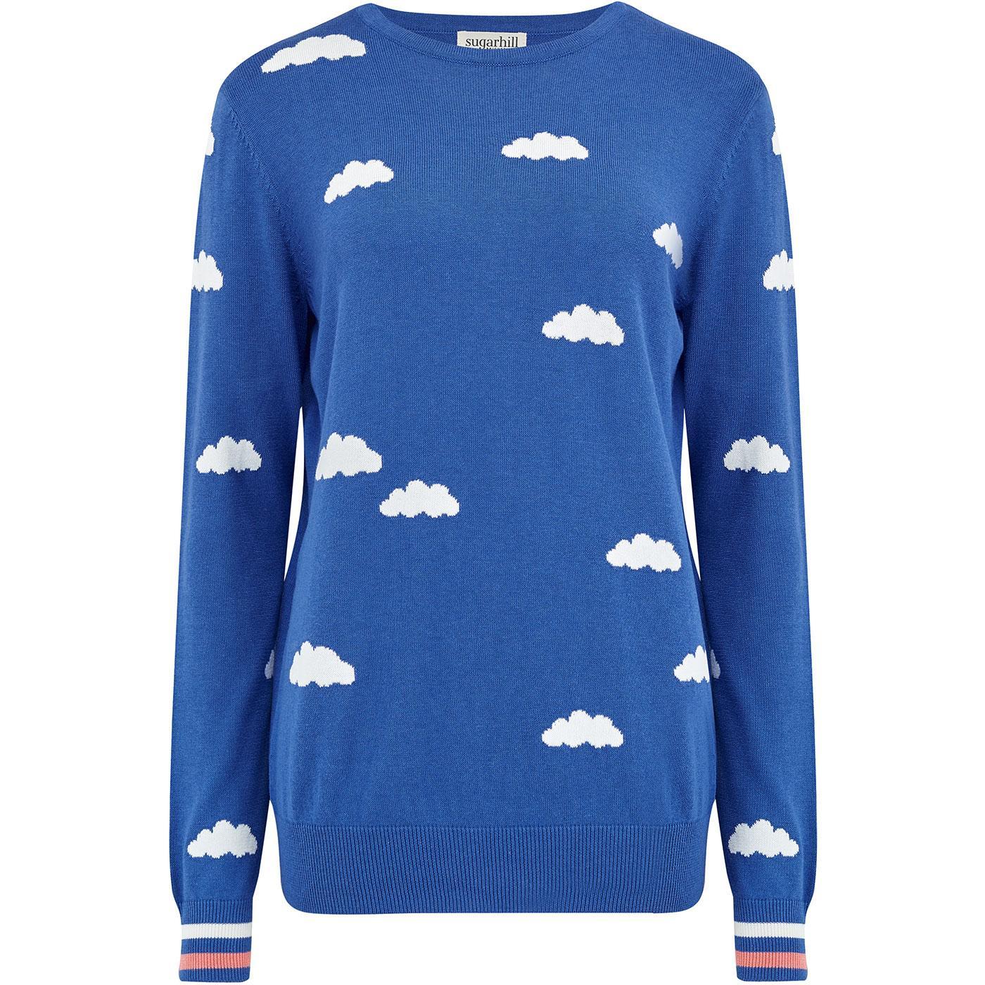 K0151 rita summer skies sweater blue