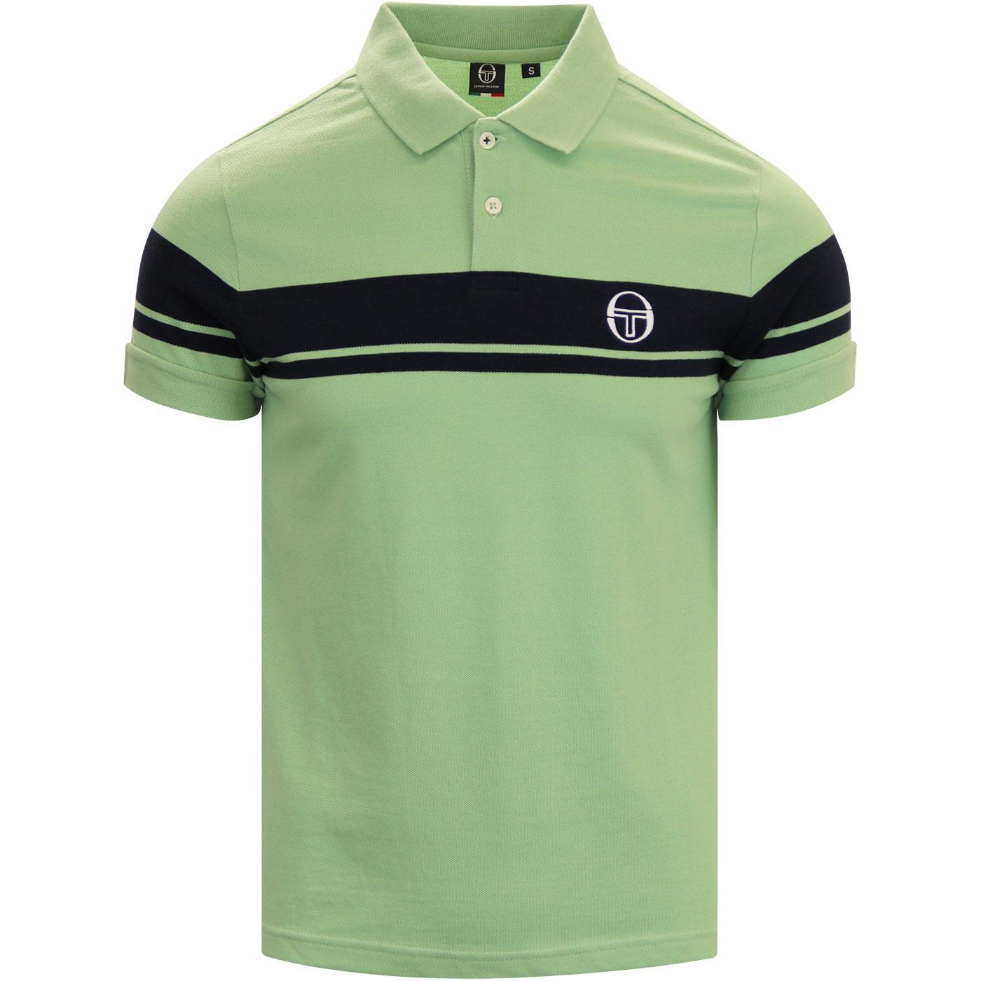 Young Line SERGIO TACCHINI Retro Polo Shirt (G/N)