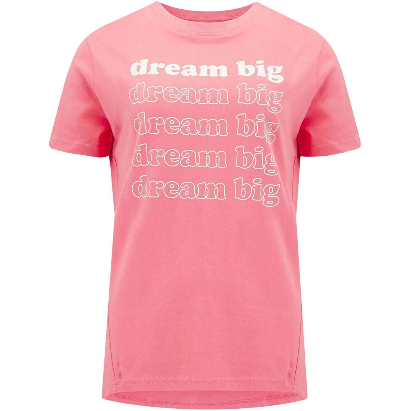 Mimi SUGARHILL BRIGHTON Dream Big Retro Slogan Tee