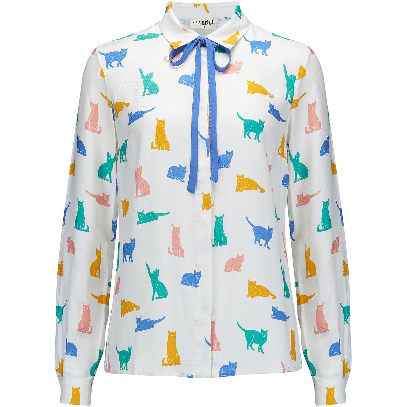 Catrina SUGARHILL BRIGHTON Purrfect Cats Shirt