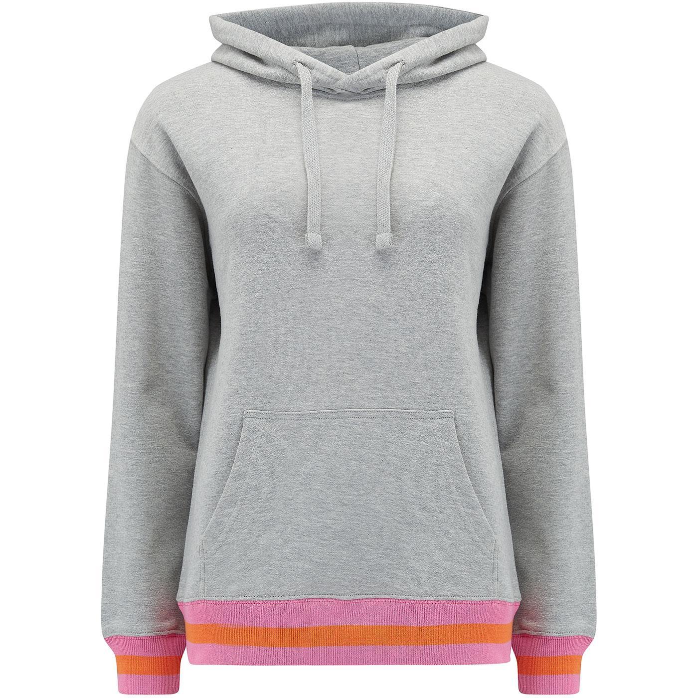 SW0027 jesse sports tripe hoodie grey