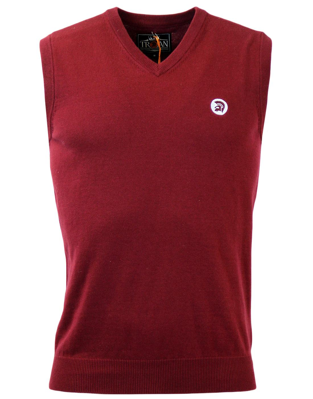 TROJAN RECORDS Retro 60's Fine Gauge Tank Top M