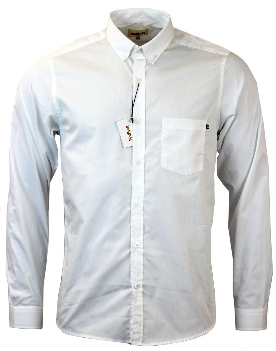 Agnew TUKTUK Retro Mod Cotton Poplin L/S Shirt (W)