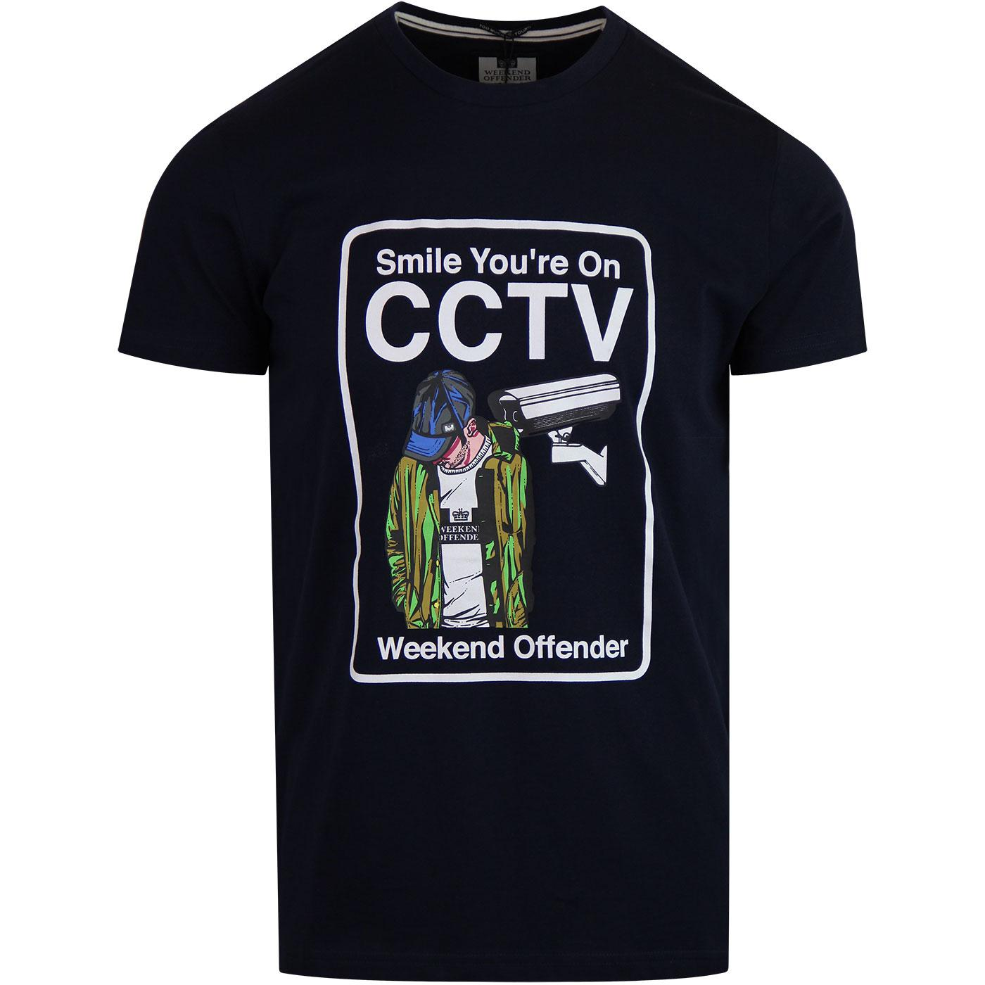 CCTV WEEKEND OFFENDER Men's Graphic Logo Tee